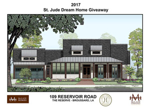 The 2017 St Jude Dream Home Has Been Built In Reserve Broussard La Is A New Development By Mclain Homes And Perfect Place For
